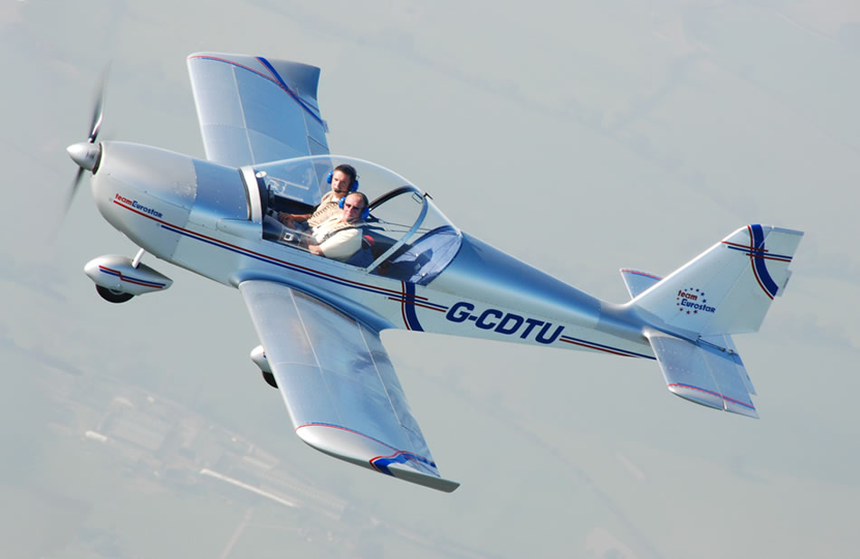 Eurostar fixed wing microlight