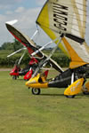 Parked Quik GT450 microlights