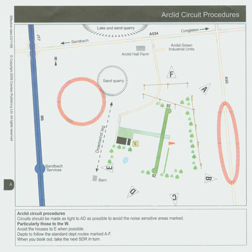 Arclid airstrip Circuit Procedures