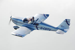 Cheshire Microlight Centre's Eurostart fixed wing aeroplane